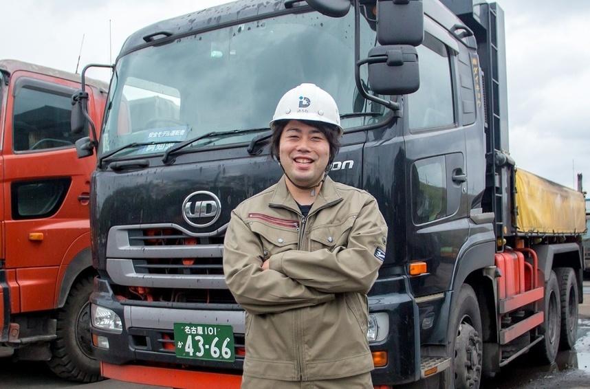 一般貨物輸送の社員(ドライバー)